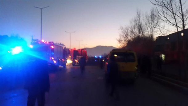 На месте теракта в Кабуле