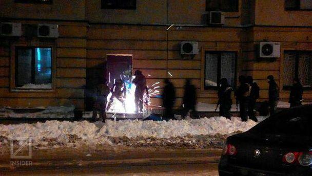 Штурм офиса на Дмитриевской