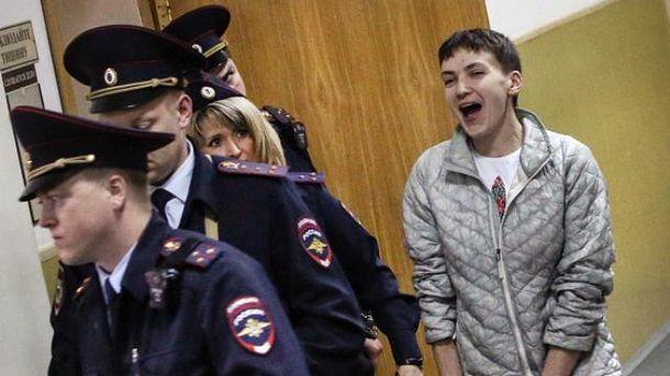 Надія Савченко в суді