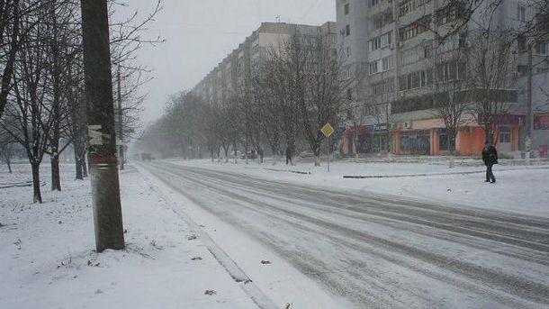 У Миколаєві замерз військовий