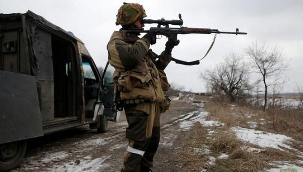 Боевики применили 120-мм миномет врайоне Старогнатовки— Штаб АТО