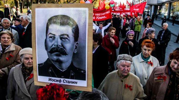 Сторонники Сталина в Крыму