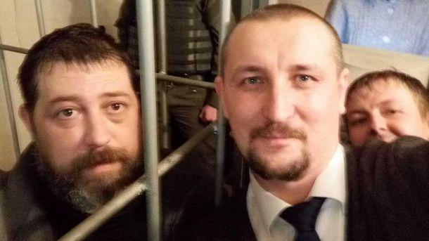 Сергей Тищенко и Влад Добош