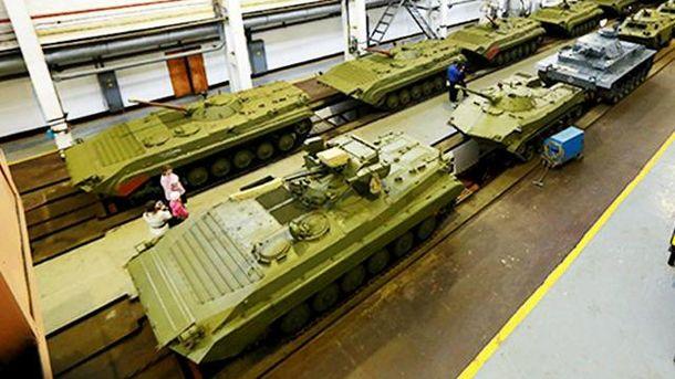 На Житомирском бронетанковом заводе