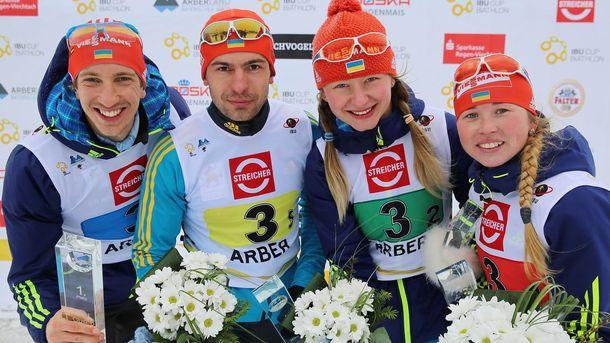Биатлон. Украинские спортсмены продолжают побеждать