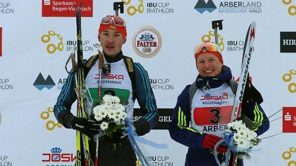 Украинские биатлонистки выиграли все золото на этапе в немецком Арбере
