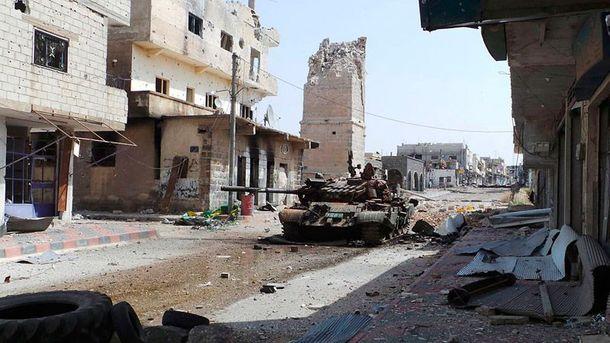 Війська Асада відбили уповстанців місто Рабія