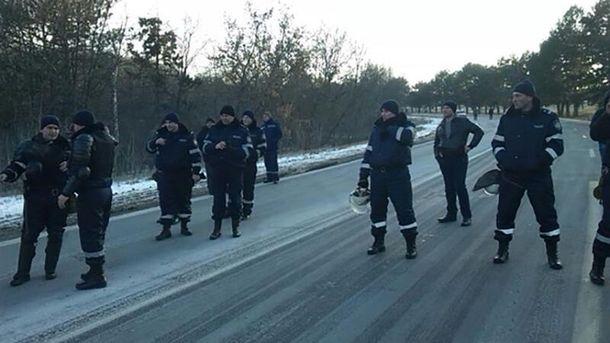 Протестувальники тимчасово заблокували в'їзд вКишинів