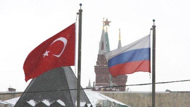 Туреччина вводить перші санкції проти Росії