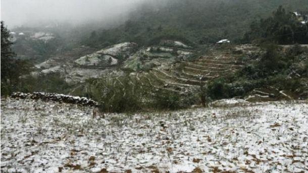 Снег во Вьетнаме