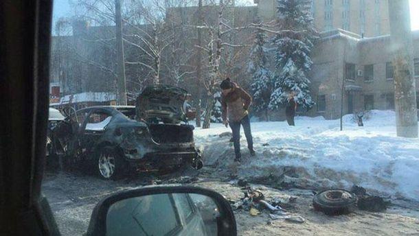 Адвокату известных террористов сожгли машину