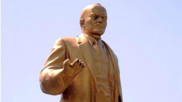 Ленин в Донецке