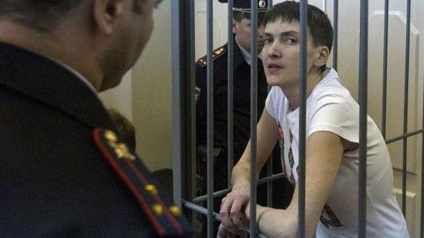 Адвокат: Савченко у СІЗО намалювала топографічні карти Донбасу