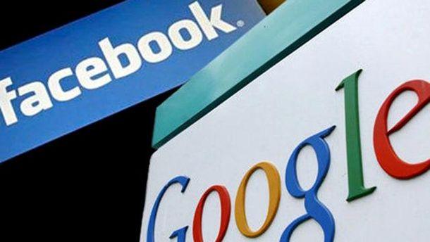 Росія погрожує заблокувати Google і Facebook
