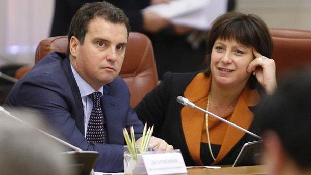 Айварас Абромавичюс и Наталья Яресько