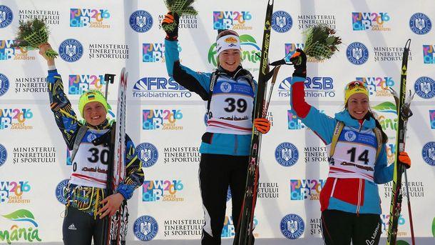Українська біатлоністка виграла «срібло» в індивідуальній гонці юніорського чемпіонату світу