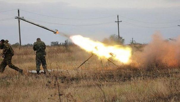 Українські партизани викрали убойовиків реактивну пускову установку