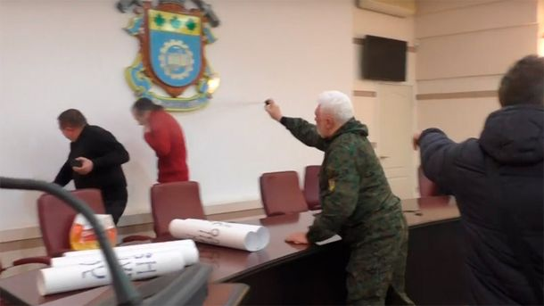 Бійка в Краматорську