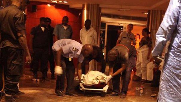 На месте теракта в столице Буркина-Фасо