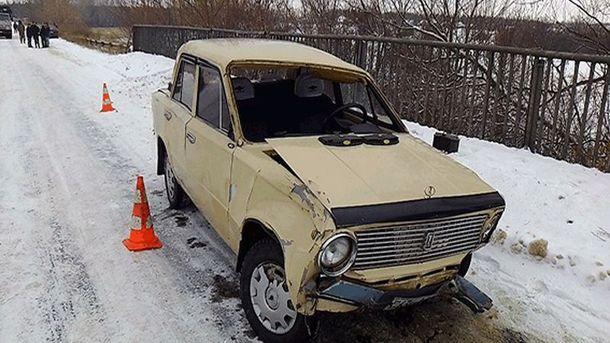 Машина виновника аварии
