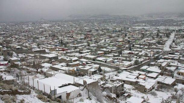 Мексика у снігу