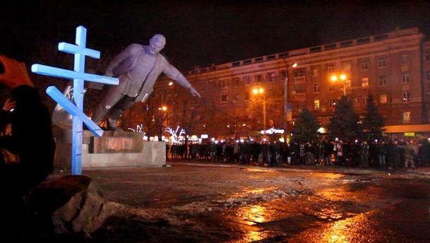 Момент падения Петровского