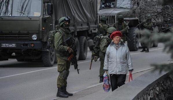 Момент окупації Криму