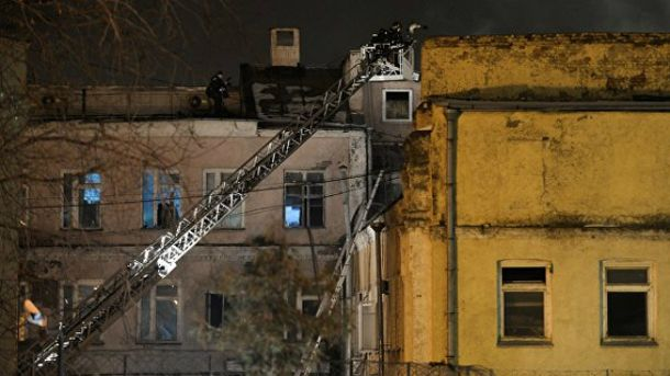 Пожежа у Москві