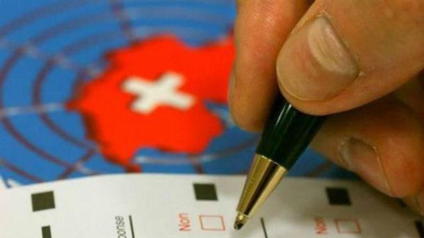 Референдум у Швейцарії