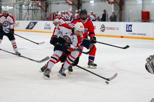 Чемпионат Украины по хоккею: начались решающие матчи