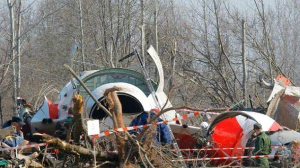 Катастрофа Ту-154М пыд Смоленськом