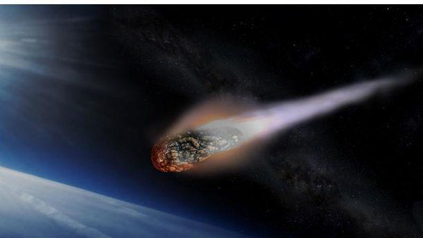 Астероїд. Ілюстрація