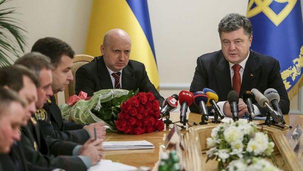 Петро Порошенко на засіданні РНБО