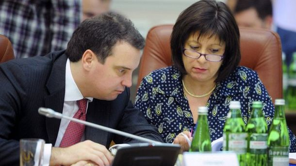 Айварас Абромавичус і Наталія Яресько