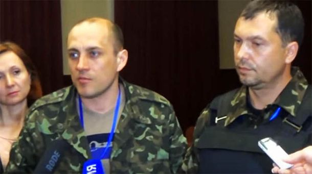 Сергій Корсунський (зліва на фото)