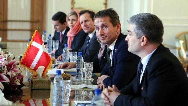 Данія погрожує зняттям санкцій з Росії