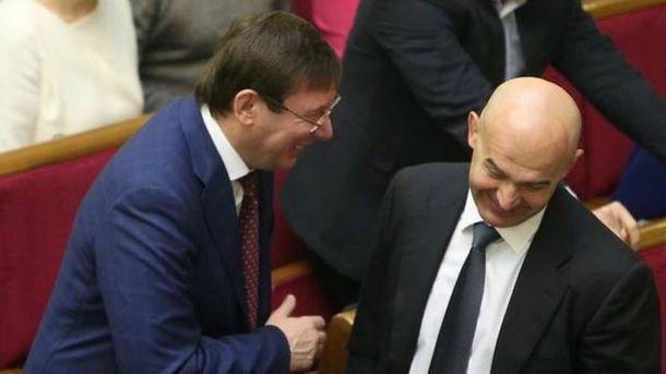 Юрий Луценко, Игорь Кононенко