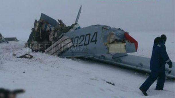 Самолет Ан-2 разбился в России