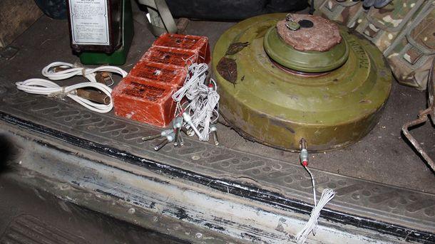 Взрывчатка и противотанковая мина