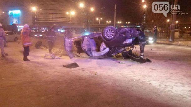 Авария с Lexus