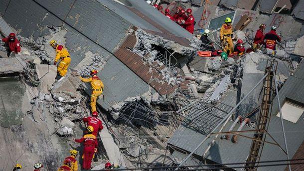 Наслідки землетрусу на Тайвані