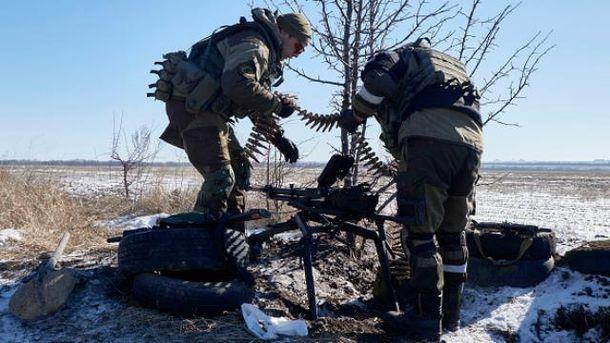 Пророссийские боевики на Донбассе
