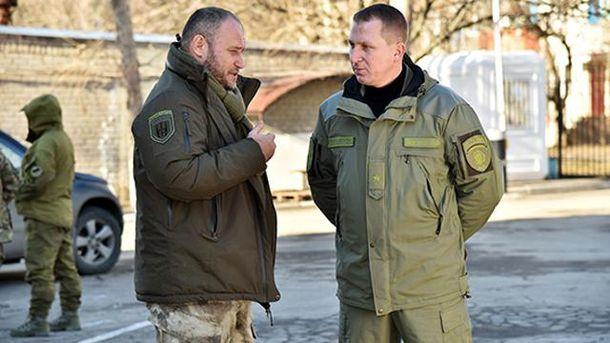 Дмитрий Ярош и Вячеслав Аброськин