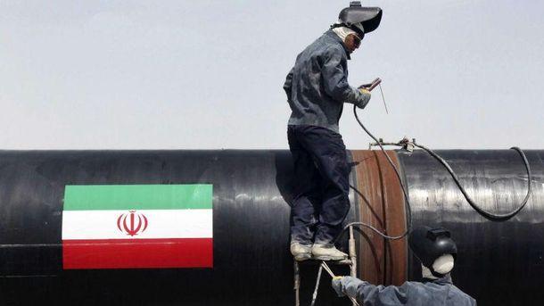 Іранська нафта пішла в Європу