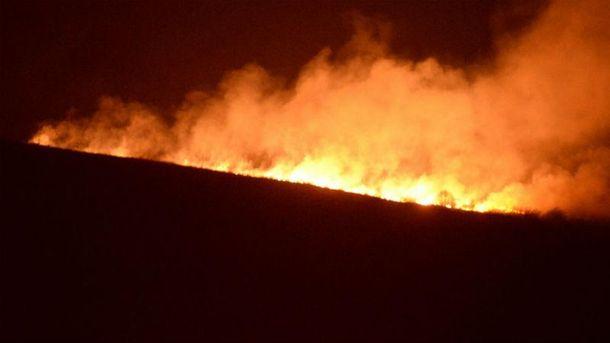 Пожар возле Львова