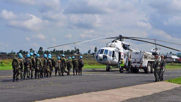 Украинские миротворцы в Конго