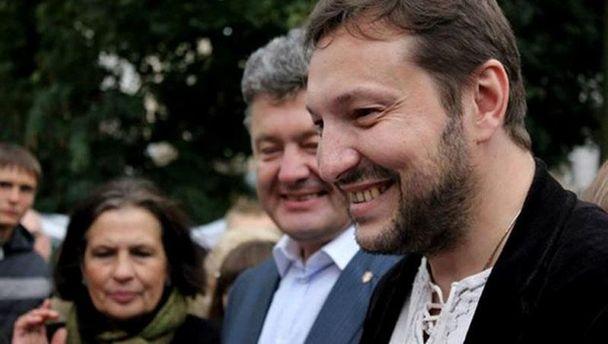 Юрий Стець и Петр Порошенко