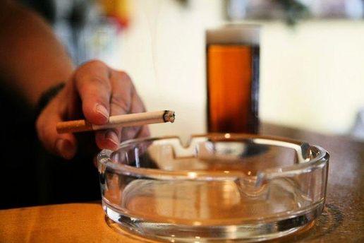 Пиво і цигарка