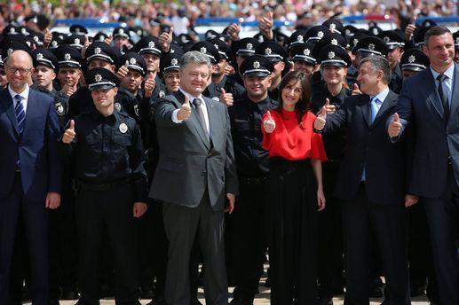 Новая полиция Киева