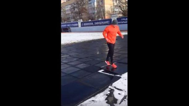 Тренування Олександра Усика